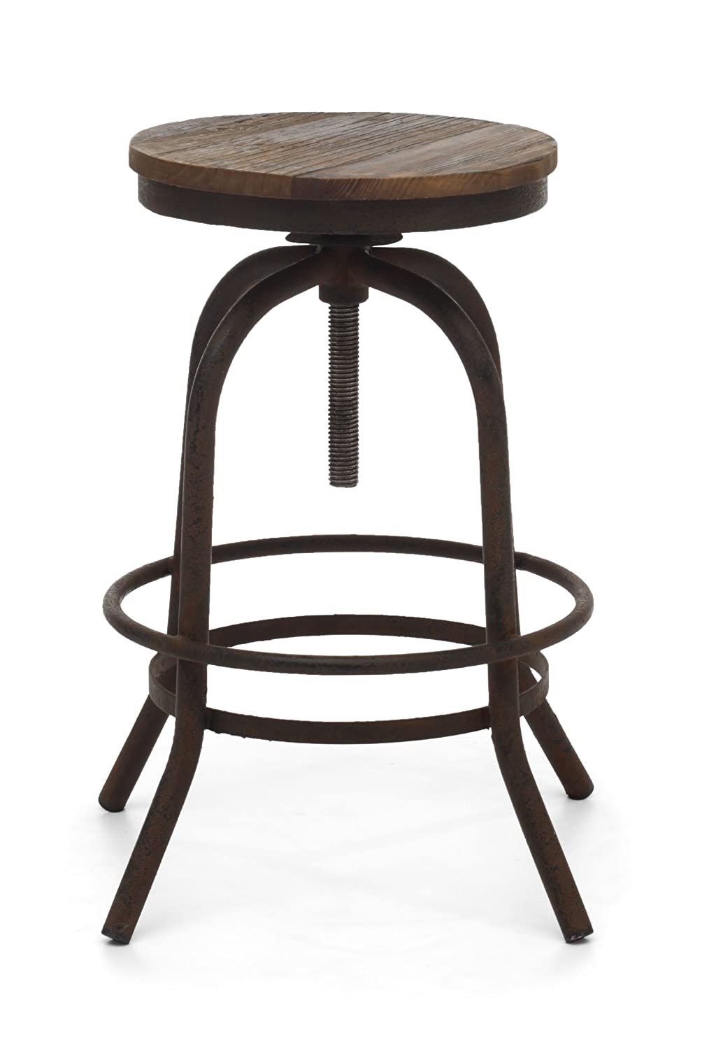 Amazon.com Zuo Modern Twin Peaks Counter Stool Distressed Natural Kitchen u0026 Dining  sc 1 st  Amazon.com & Amazon.com: Zuo Modern Twin Peaks Counter Stool Distressed ... islam-shia.org