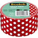 Amazon Com Duck Brand Polka Dots Printed Duct Tape 10