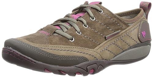 Merrell MIMOSA LACE J55848 - Zapatillas de cuero para mujer, Beige (Beige (MERRELL STONE)), 37: Amazon.es: Zapatos y complementos