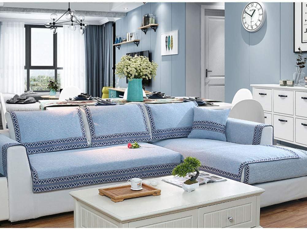 Küche, Haushalt & Wohnen Sofaüberwürfe Couch Schnitt-blau ...