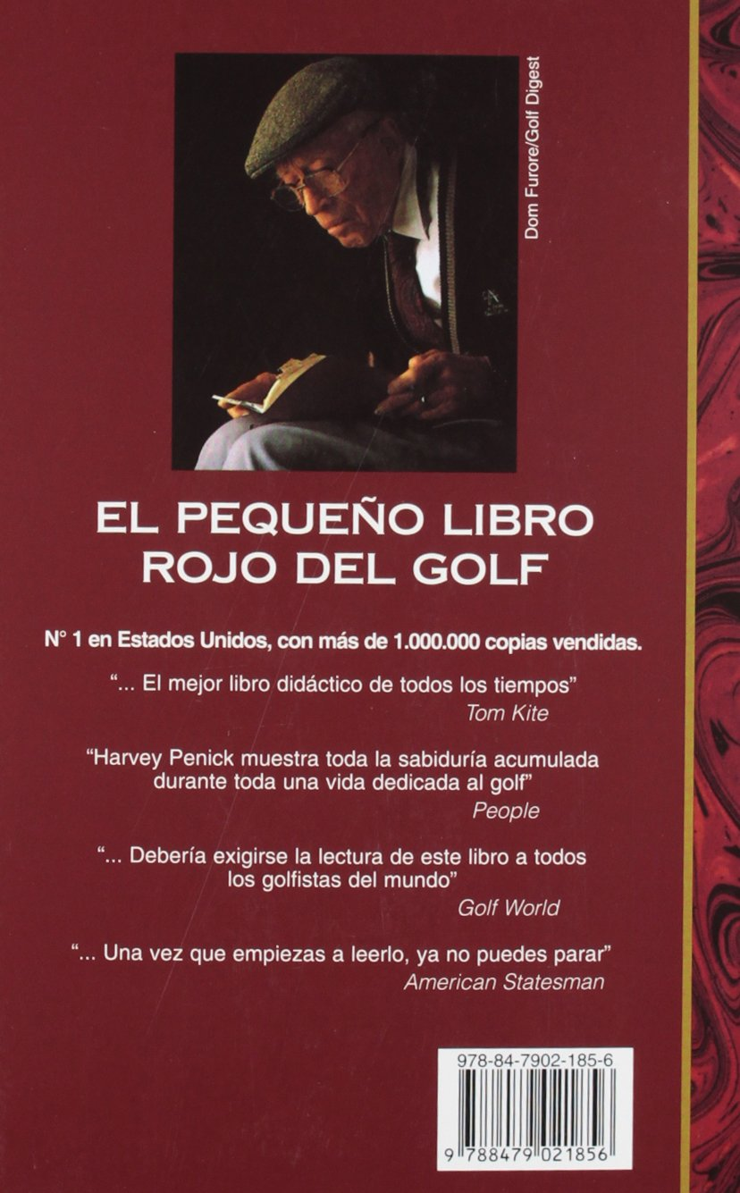 Pequeno Libro Rojo del Golf, el - 8b: Ed. Rustica: Amazon.es ...