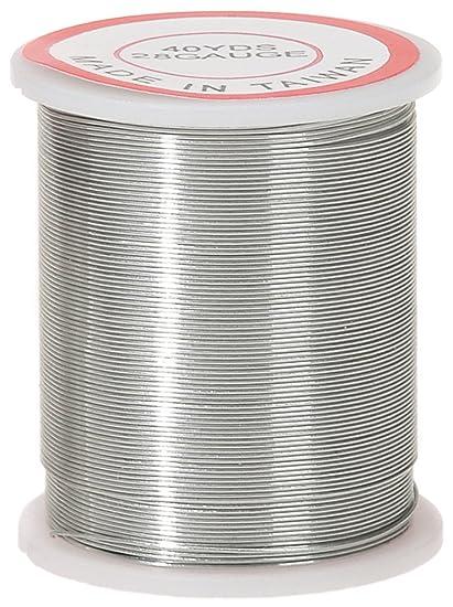 Amazon.com: Darice 28-Gauge Beading Wire, 40-Yard, Silver