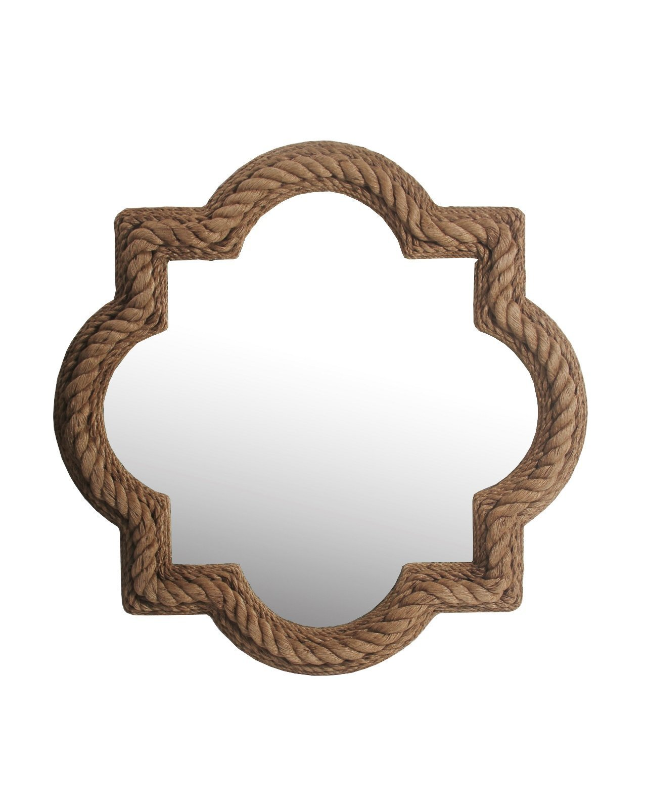 Privilege Rope Beveled Mirror - Material: Wood No assembly required Country of Origin: China - bathroom-mirrors, bathroom-accessories, bathroom - 71 Rmzi7jLL -