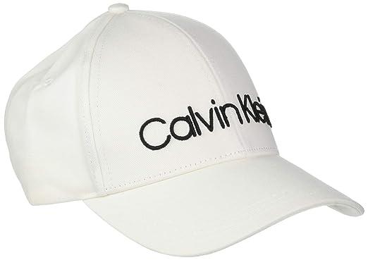Calvin Klein Logo Embroidery Cap W, Gorra de béisbol Mujer, Blanco (Off White