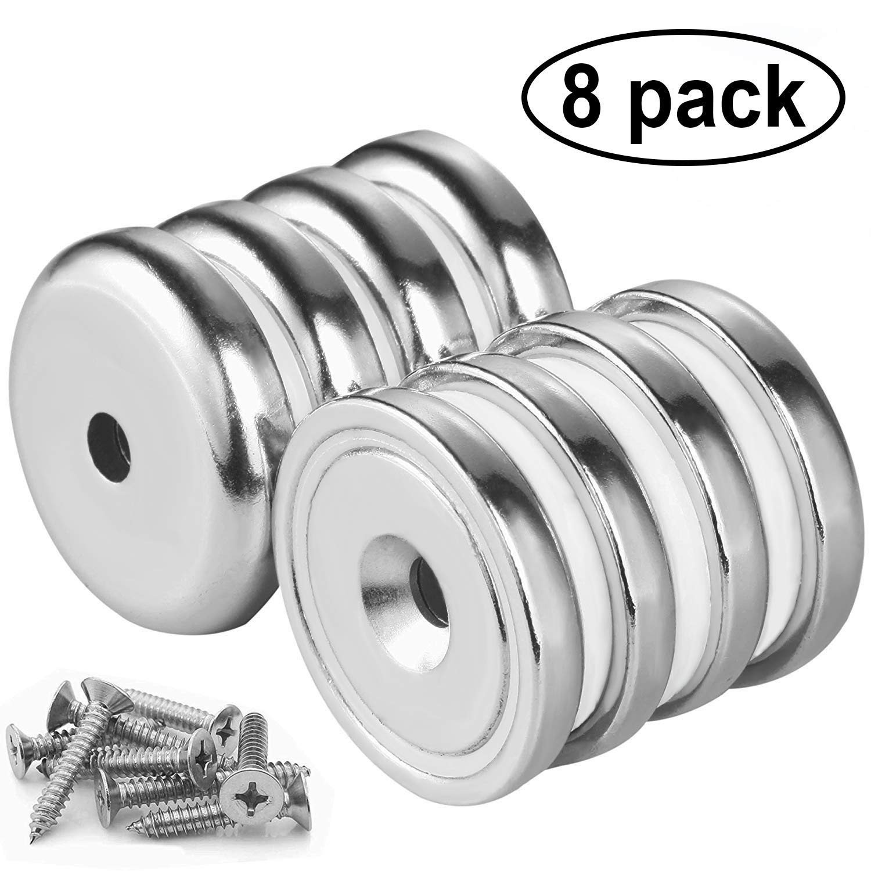 4/stuks n52/panmagneten neodymium Magneten 60/mmx13.5mmx5/mm Wukong sterk neodymium Magneten rare Earth Magneet Super sterke ondersteuning 32/kg trekkracht voor Multi-Use
