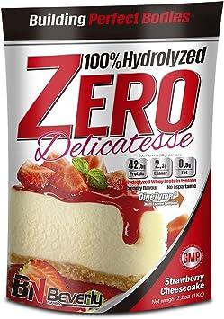 Beverly Nutrition Proteína Hidrolizada, Sabor Tarta de Queso Fresa - 1000 gr