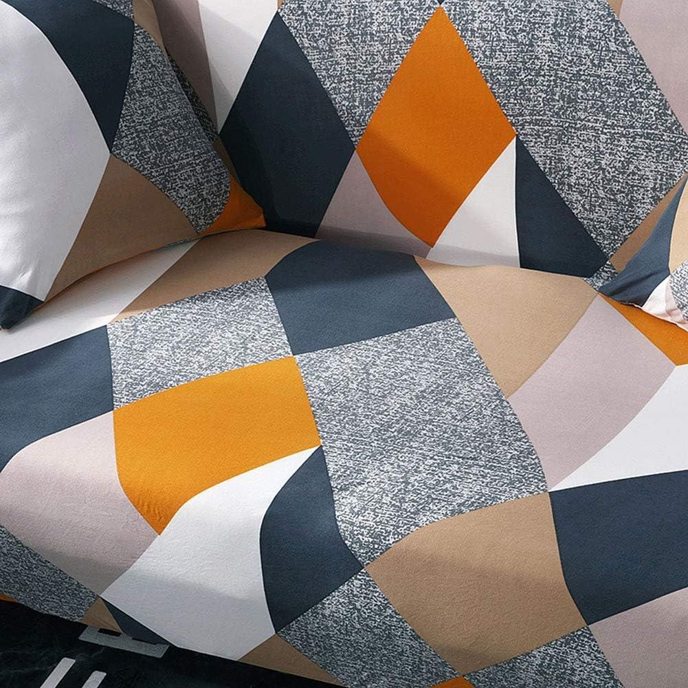 Ichiias Sofa Cover Waterproof Elastic Non-slip Dustproof Slipcover Cushion Protector 90-140cm