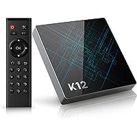 Bqeel K12 Octa-Core S912 2GB+16GB eMMC Android TV Box Bluetooth 4.1 Android 6.0 4K*2K WiFi 2.4G 5G Ethernet Gigabit 100/1000M