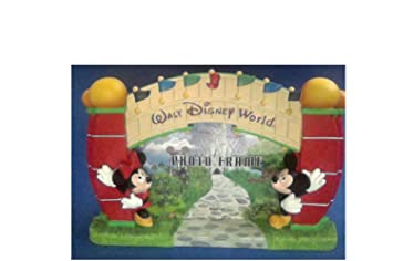 Amazoncom Walt Disney World Entrance Picture Frame Mickey Mouse