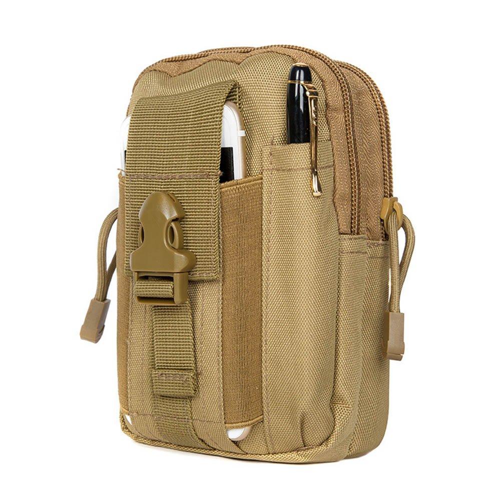 ZEROF Taktische Hüfttaschen, Taktische Tasche Hüfttasche Bauchtasche Gürteltasche für Camping Wandern Radfahren Klettern und Reisen.