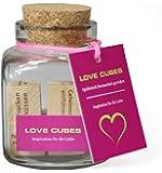 Dieses Geschenk mit über 45.000 Verwöhnideen könnte ihren Partner verrückt machen. LOVE CUBES – Inspiration für die Liebe. Die ausgefallene Geschenkidee!