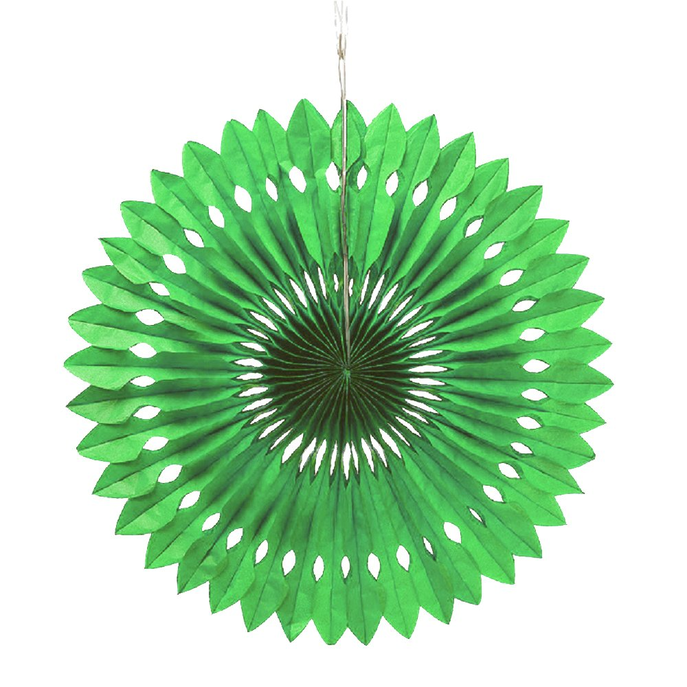 Weddingstar Paper Pinwheel Decor Green 43006-03