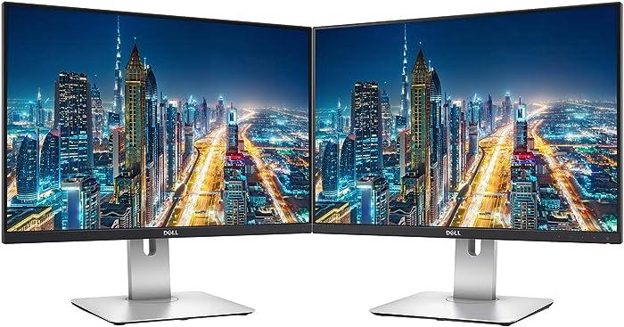 Dell UltraSharp U2415 24 Inch WUXGA LED LCD 2-Pack Monitor Black