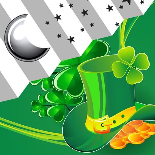 Clock Weather St. Patricks Day