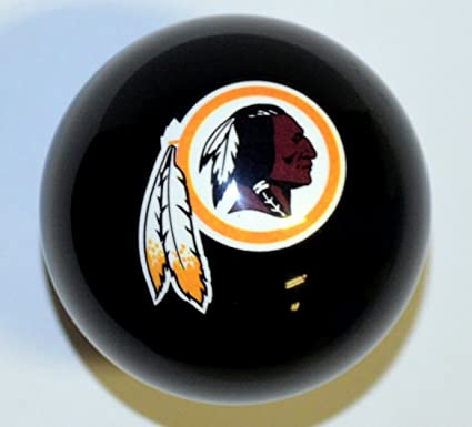 NFL Imperial Washington Redskins Pool Billiard Cue/8 Ball   Black