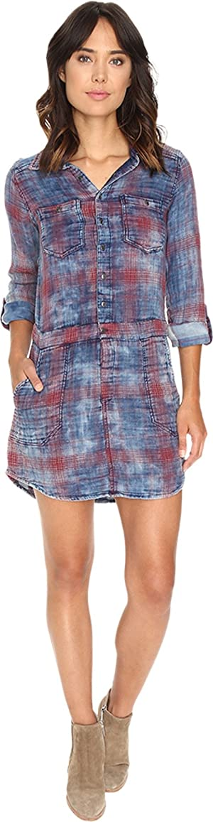 Blank NYC Shirt Dress, Jitney, Large