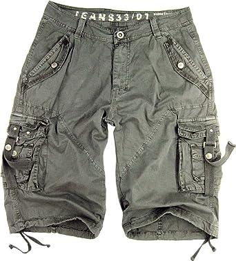 Mens Military Style Cargo Shorts #A8S | Amazon.com
