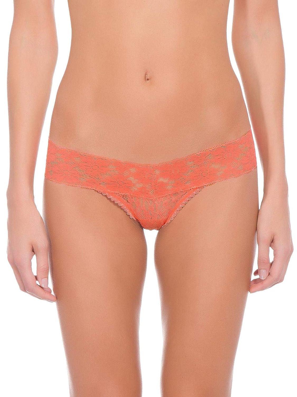 4d98295f6 Calcinha Loungerie Fio Dental Renda Sweet Lace Coral Candy Peach Laranja   Amazon.com.br  Amazon Moda