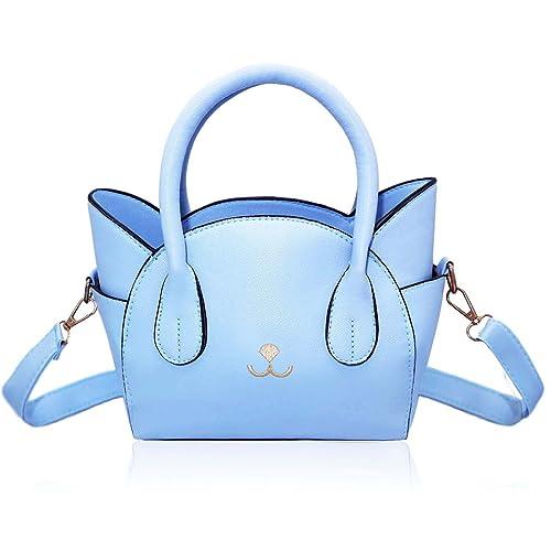 355e43981 Women's Handbag Fashion Top Handle Bag Cute Cat Cross Body Bag Shoulder Bag  Tote Bag for