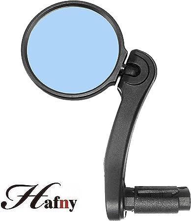 Venzo Bicycle Bike Handlebar Stainless Steel Mirror Universal Design Blue Right