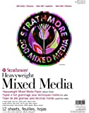"Strathmore (584-11 500 Series Heavyweight Mixed Media, 11""x14"", 12 Sheets"
