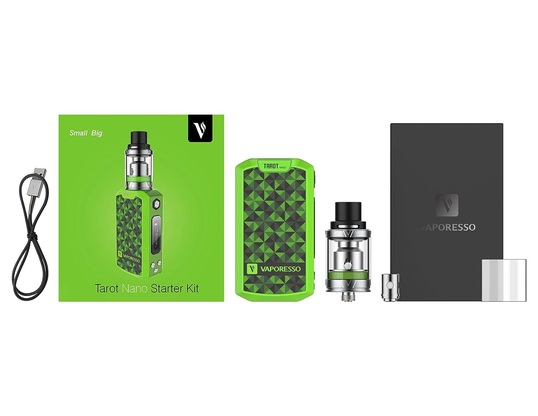 Vaporesso Tarot Nano - Kit 80 W TC (verde): Amazon.es: Deportes y aire libre