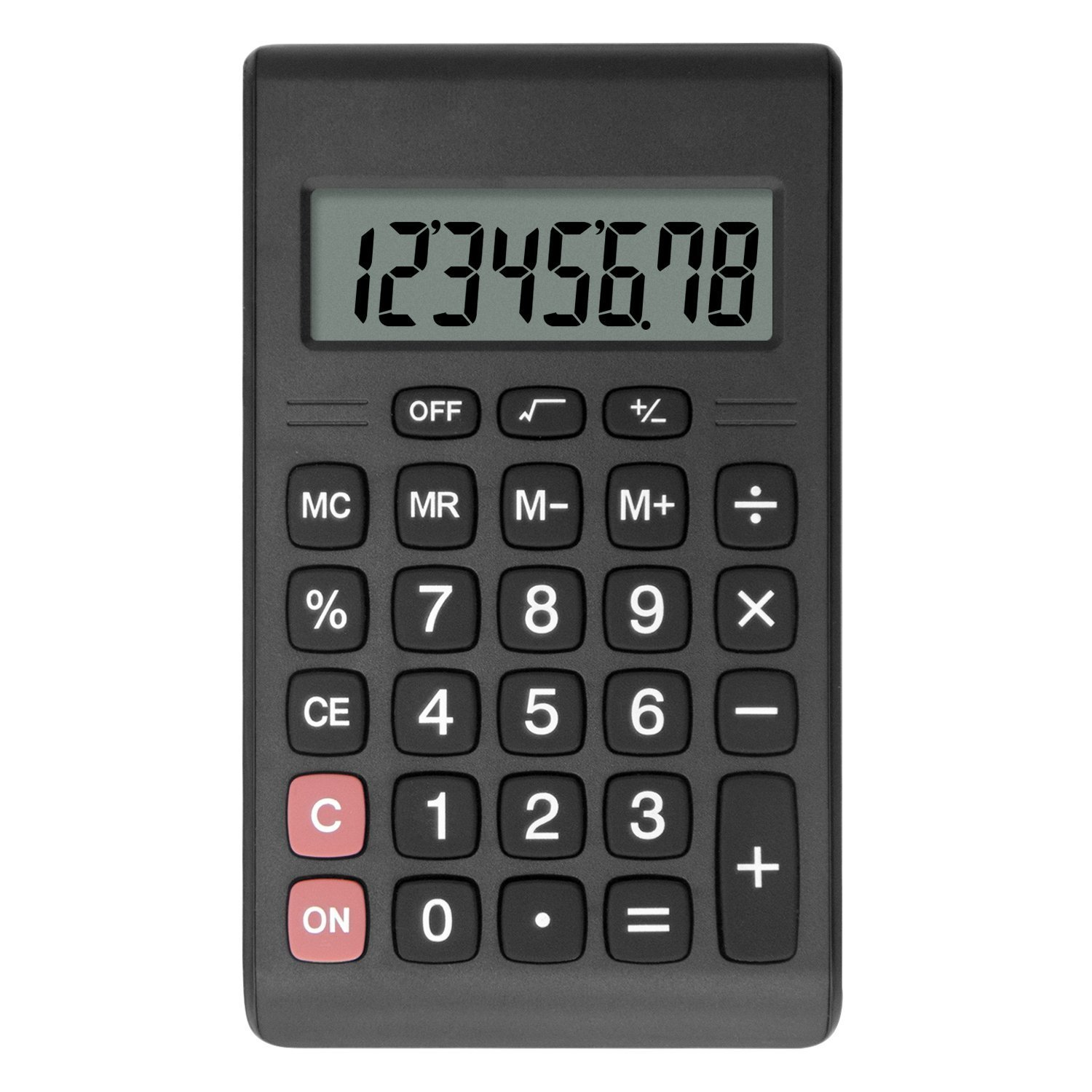 Calculator, Helect Compact Design Standard Function Handheld Portable Calculator - H1007 H-1007