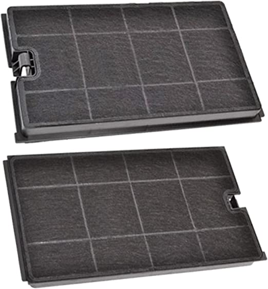 Spares2go Carbon Vent Extractor Filter for IKEA Cooker Hood Pack of 2