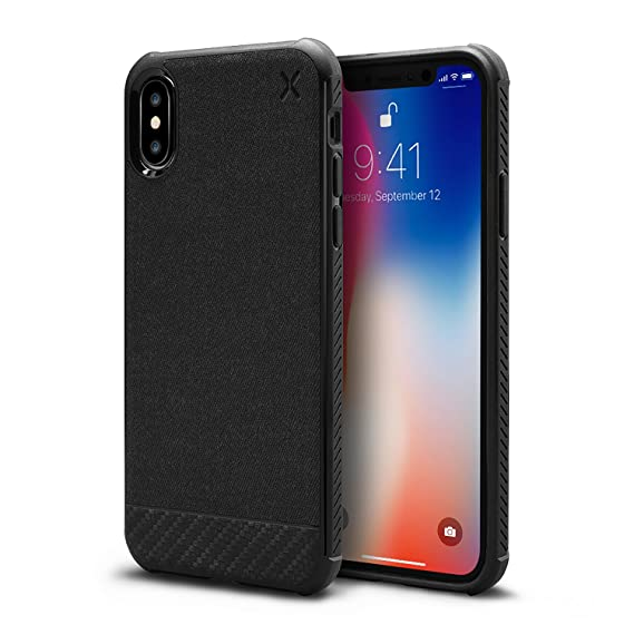 on sale 2b84f 58fe1 Casetify Mesh Woven iPhone Xs Case with Thin Slim Back Cover and TPU Bumper  with Wireless Compatibility for Apple iPhone Xs (2018) Apple iPhone X ...