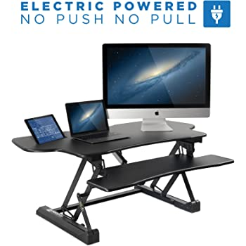 Amazon Com Vivo Electric Height Adjustable Standing Desk