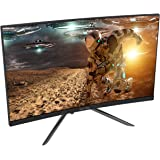 Viotek GN24CB 24-Inch Curved Gaming Monitor with Speakers, 1080P 144Hz Bezel-Less Samsung VA Panel, 2 x HDMI DP FreeSync…