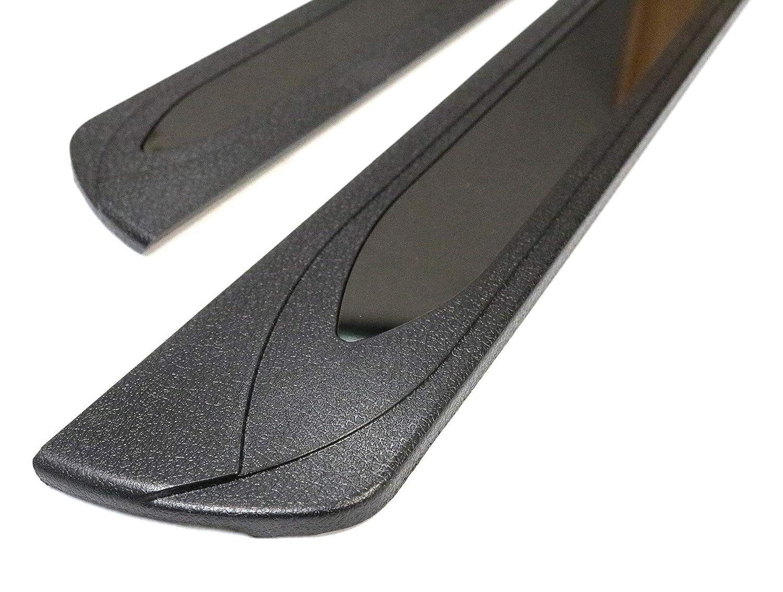 TMB Door Sill Guard for Nissan Rogue 2014 ABS Black