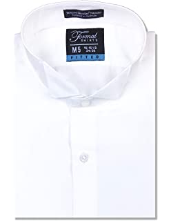 Milani Mens Tuxedo Shirts With French Cuffs And Bow Tie TSF01-WHT22-$P