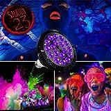 Black Lights Bulb, KINGBO 36W LED UV Light E26