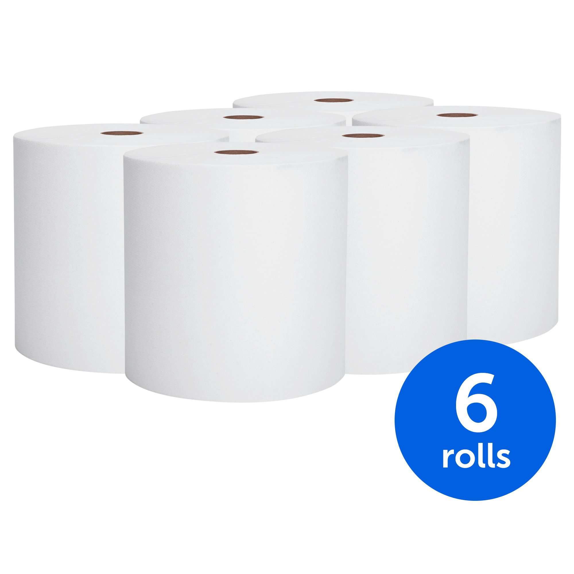 Paper Towel Rolls For Hamsters: Scott High Capacity Hard Roll Paper Towels (01005), White