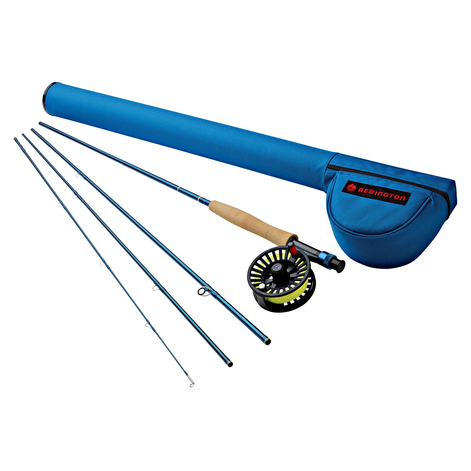 Redington Fly Fishing Fly Fishing Combo Kit 990-2 Outfit with Cross water 9 Wt. 9' Reel (Piece 2)