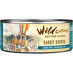 Wild Calling Wet Food, Cat: Rabbit Burrow