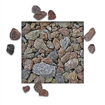 Geliebte 10 kg Lava Splitt Pflanzgranulat Schneckenschutz Lavastein #DZ_48