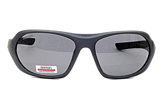 FERRARI - Gafas de sol Unisex Gris Negro: Amazon.es: Ropa y ...
