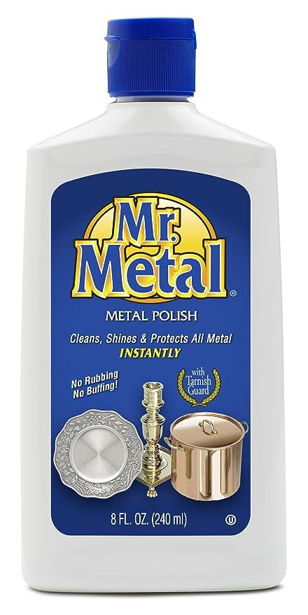 Mr Metal All Purpose Metal Polish Liquid 8 Oz Amazonca Home