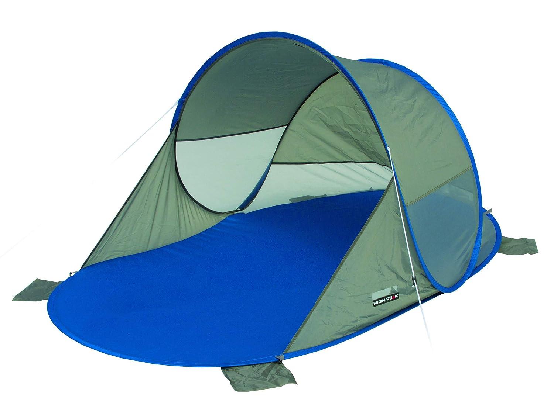 Unisex Adulto High Peak Calvia Refugio de Playa Pop up Azul//Gris