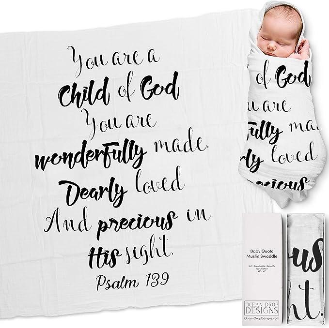 Baby blanket children cover 65 x 65 cm