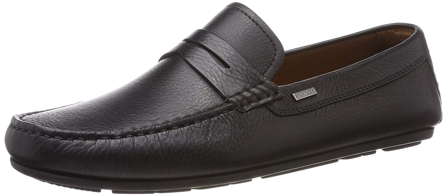 Tommy Hilfiger Classic Leather Penny Loafer, Mocasines para Hombre: Amazon.es: Zapatos y complementos