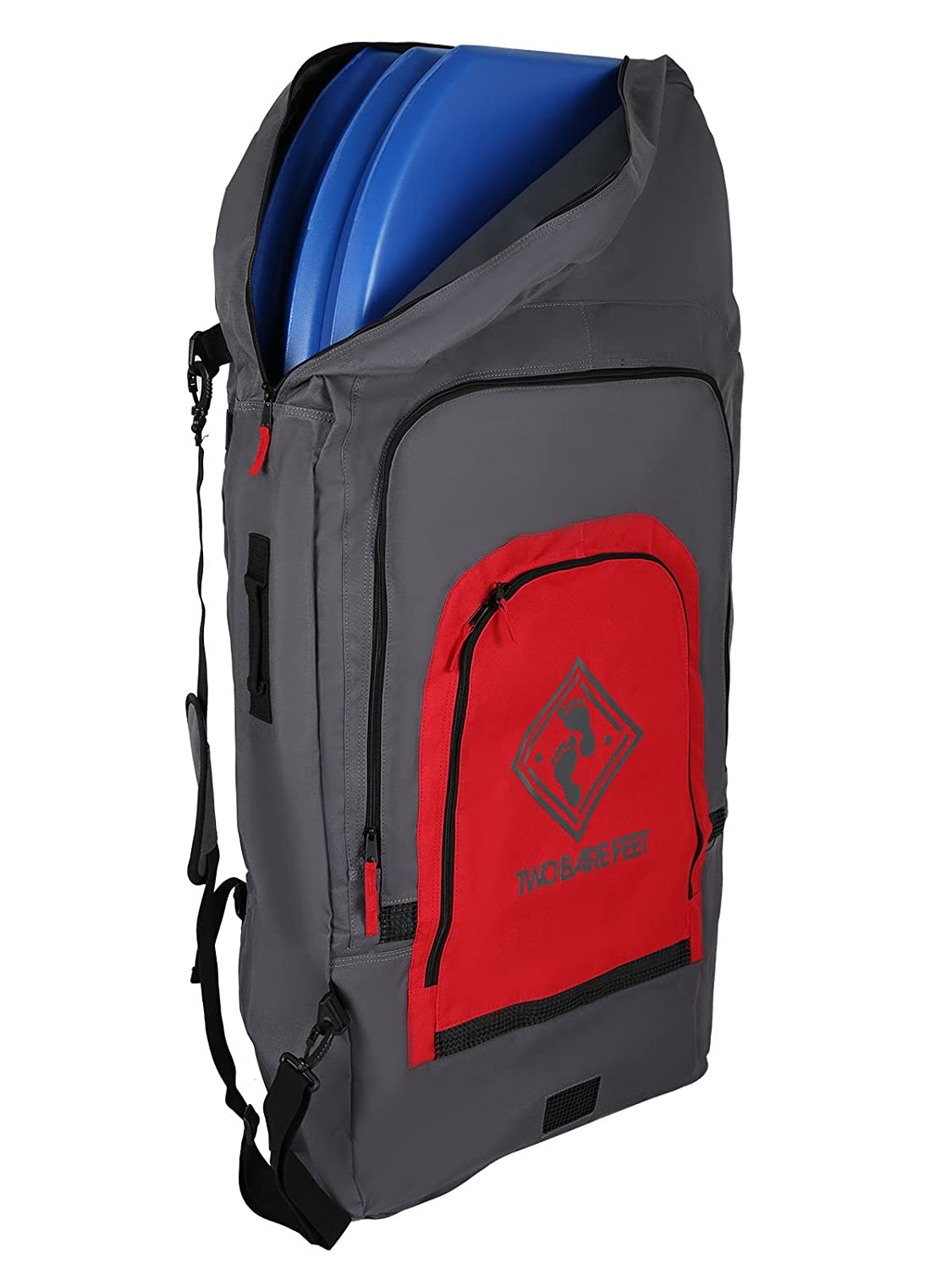 a4422817c1b5 Two bare feet deluxe triple bodyboard carry bag red sports outdoors jpg  1125x1500 Bodyboard bag with