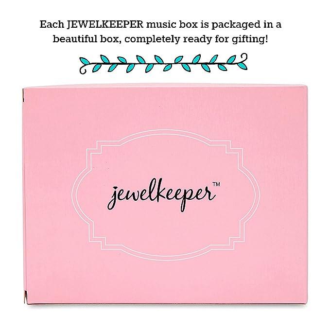 3b27327a7bfc JewelKeeper - Caja Musical para Joyas para Niñas