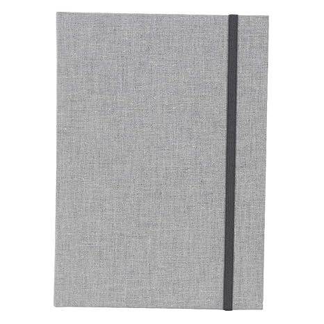 Ringbuch A4 Linum grau Goldbuch