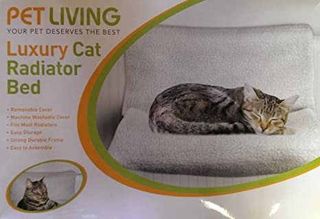 Pet Living Mascota Vida Lujo Gato Radiador Cama