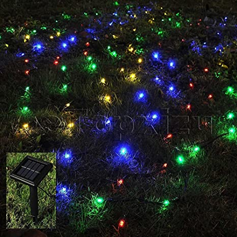 Outdoor Solar Net Lights Amazon 1mx2m outdoor solar net led string lights christmas 1mx2m outdoor solar net led string lights christmasetopxizu 328ftx656ft 120led solar workwithnaturefo