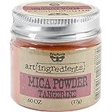 Prima Marketing finnabair Art Ingrédients Mica Poudre 0,6oz-tangerine
