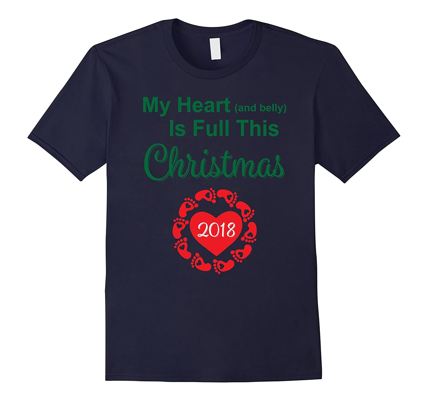 2018 Christmas Pregnancy Announcement Shirt For Mom Baby-ANZ